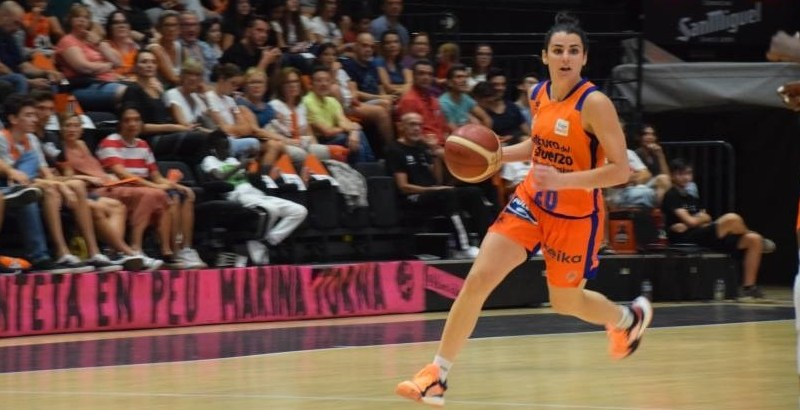 Victoria del Valencia Basket con una discreta Leticia Romero