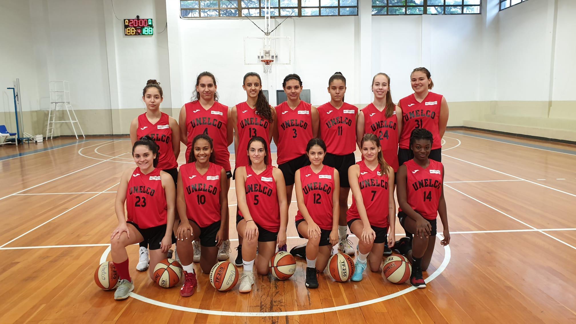 Doble presencia del Unelco en el 'XXIII Fred Olsen Express U18 International Basketball Tournament'