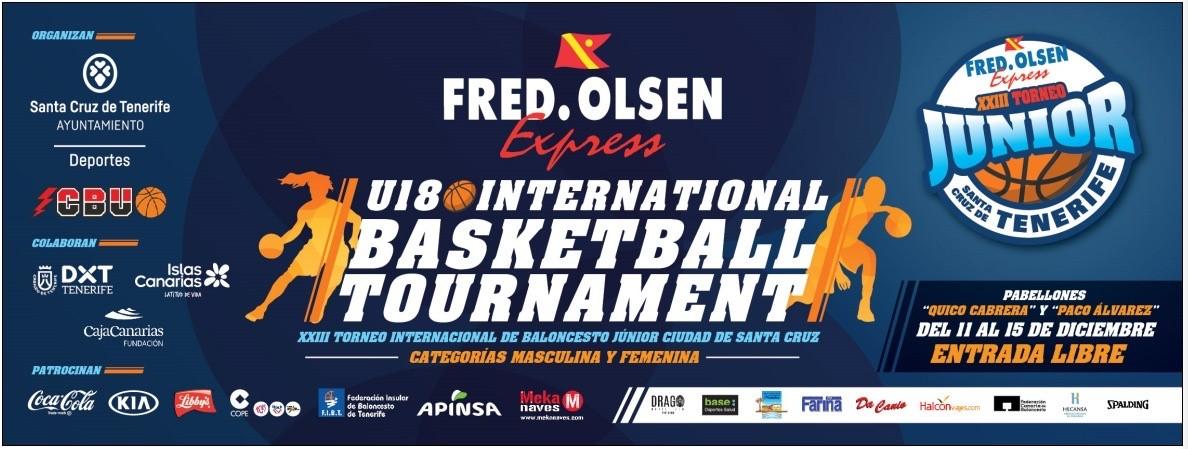 El 'Fred Olsen Express International Basketball Tournament' contará con la participación de sus vigentes campeones
