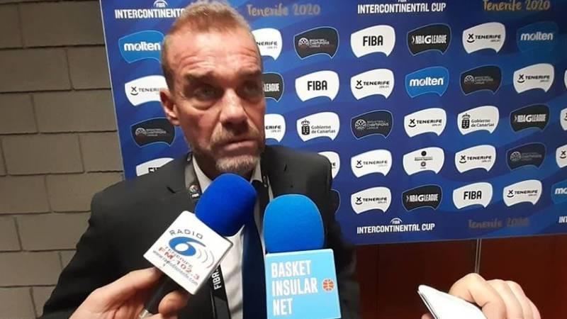 García: «Tenerife es favorito para ganar la Intercontinental»
