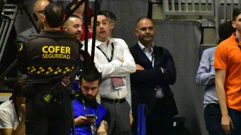 Cabrera: «El mismo árbitro que nos pitó el año pasado en la Copa de Madrid nos ha pitado hoy»