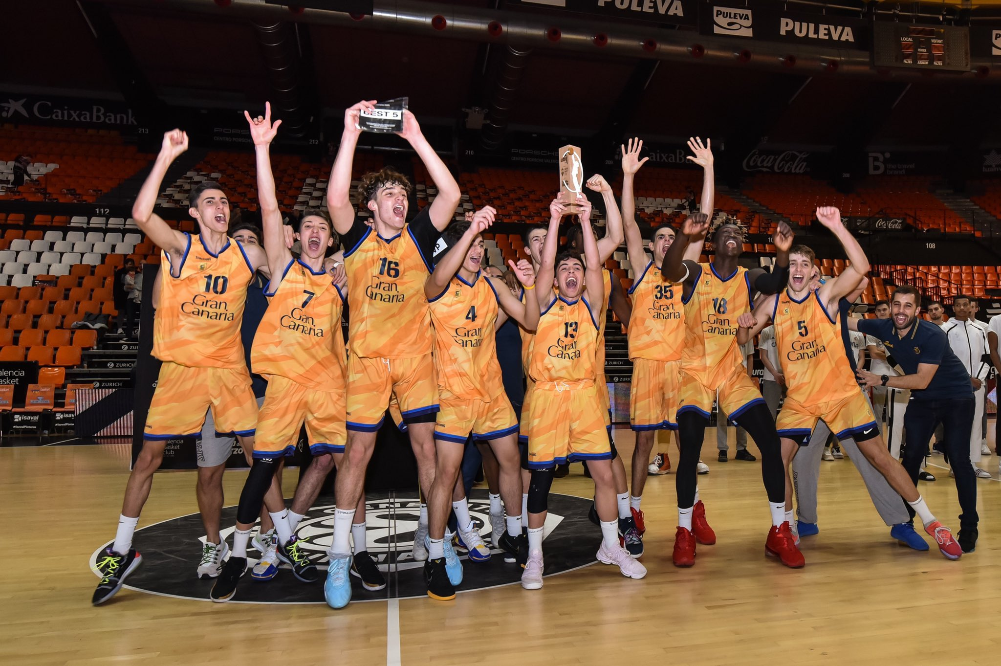 El Gran Canaria-Claret no podrá jugar la Fase Final de la Euroliga júnior