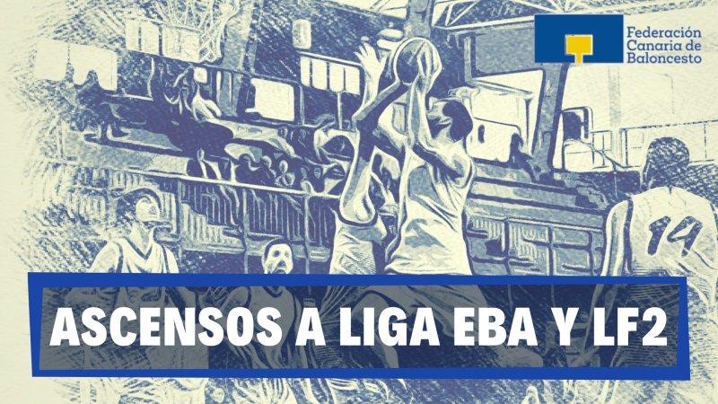 La Federación Canaria intervendrá en los ascensos a Liga EBA y Liga Femenina 2