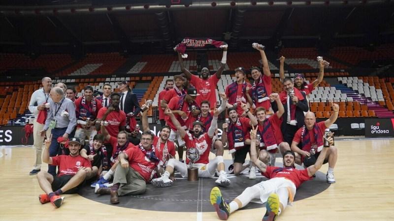 Baskonia, campeón excepcional de la ACB 19/20