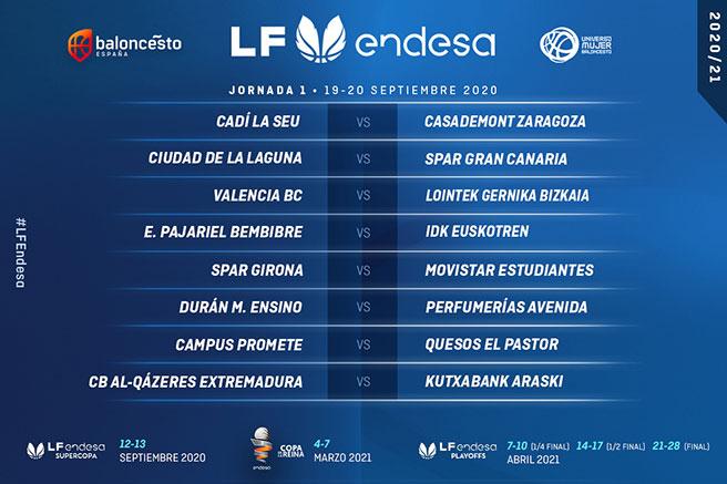 Clarinos – CB Islas Canarias, para comenzar la Liga Femenina 20/21