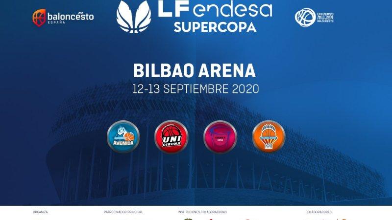 La Supercopa de Liga Femenina se jugará en Bilbao el 12 y 13 de septiembre
