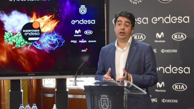 [VÍDEO] El Cabildo de Tenerife espera cumplir con el protocolo sanitario para que la Supercopa ACB pueda tener público