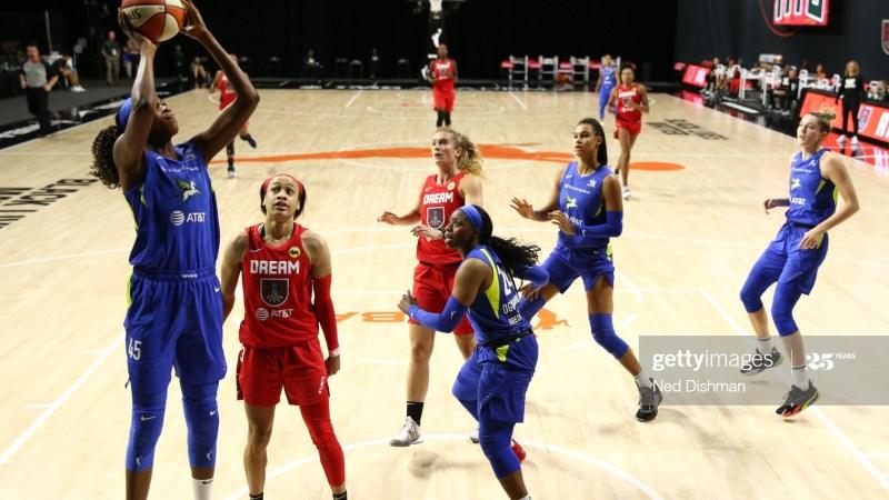 Astou Ndour comenzó la WNBA con derrota