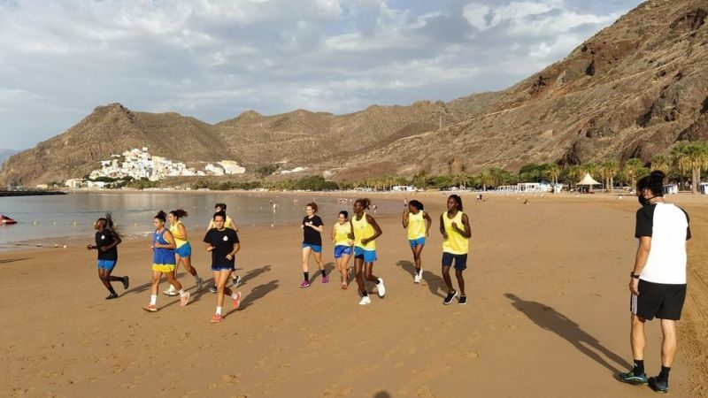 El Adareva lagunero se pone en marcha entrenando en Santa Cruz