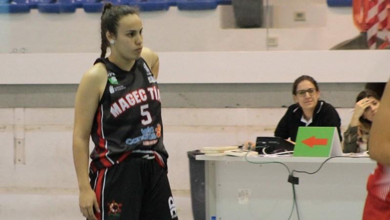 Alba Rodríguez, desde Minibasket hasta Liga Femenina 2 en el Magec Tías Lanzarote