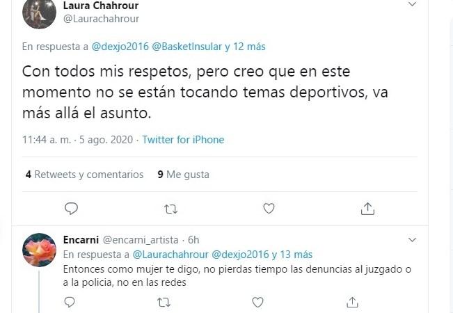 La madre de Claudio García critica a Sara Djassi y Laura Chahrour en 'Twitter'
