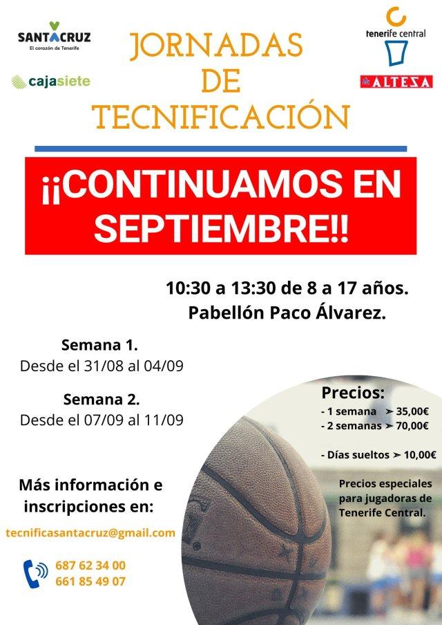 Jornadas de Septiembre en el Tenerife Central