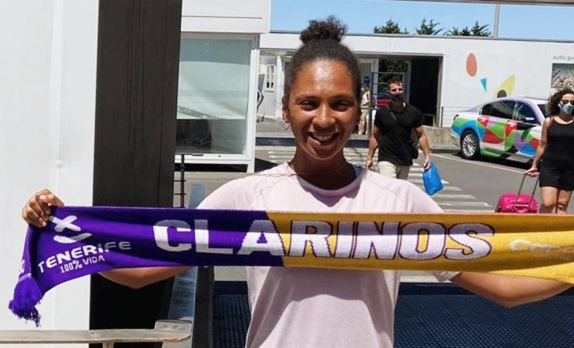 Maria Bettencourt regresó a Tenerife