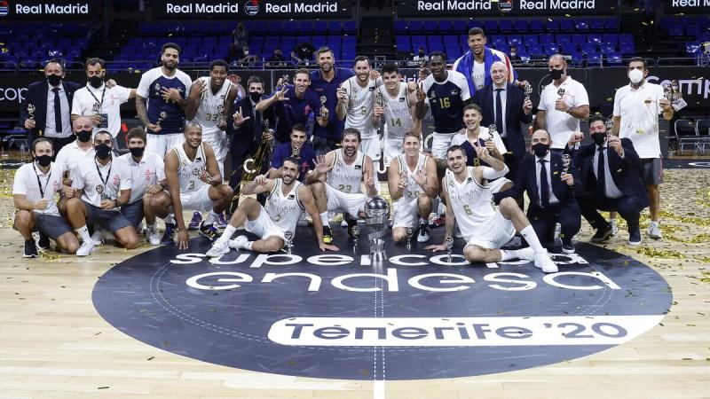 El Real Madrid, campeón de la Supercopa ACB en Tenerife