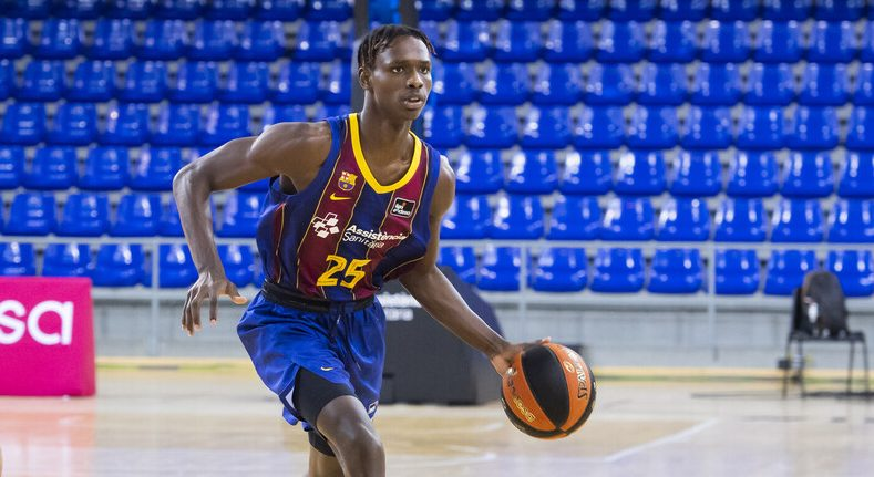 [VÍDEO] Brancou 'Papi', de La Matanza a encestar con el Barça en ACB y soñar con la NBA