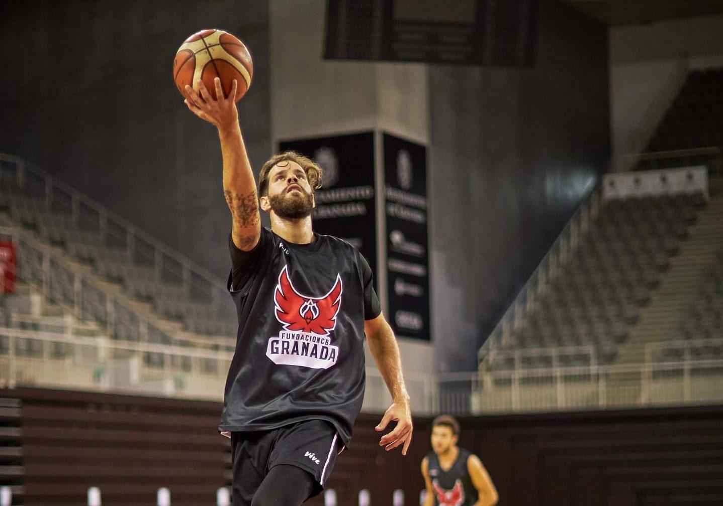 Christian Díaz comenzó a entrenar con Fundación CB Granada