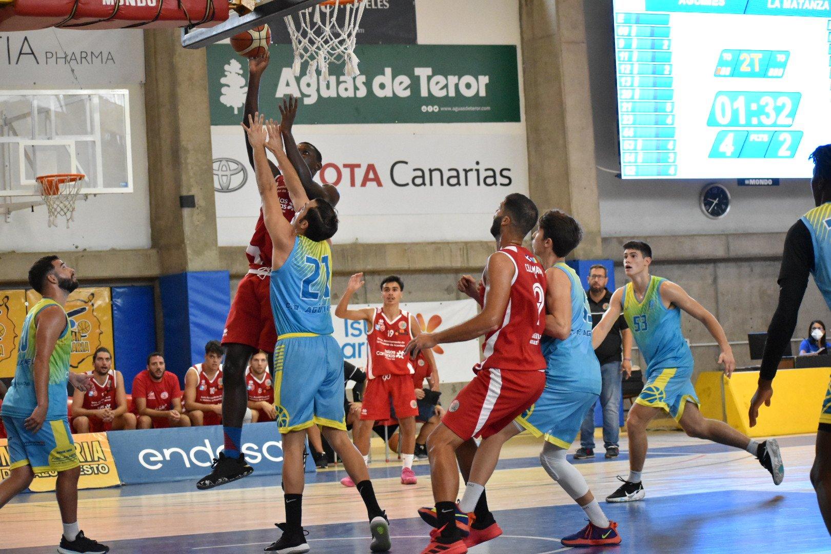 Matanza CBA venció al Agüimes y se llevó el tercer puesto de la Copa Gobierno de Canarias