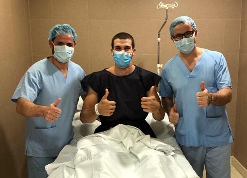 Todorovic, operado con éxito, estará de baja siete meses