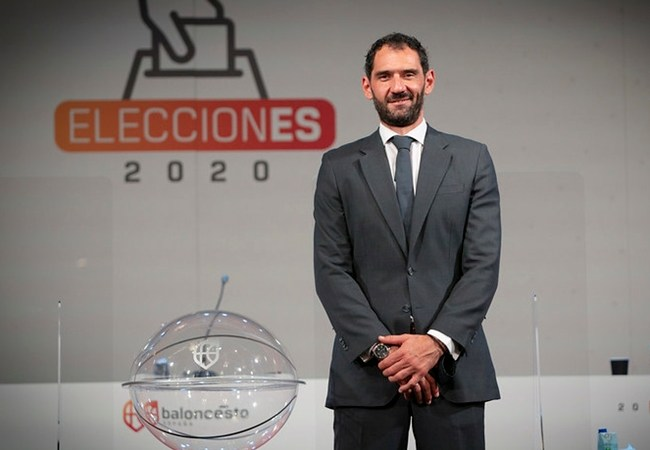Garbajosa, presidente de la Federación Española de Baloncesto hasta 2024