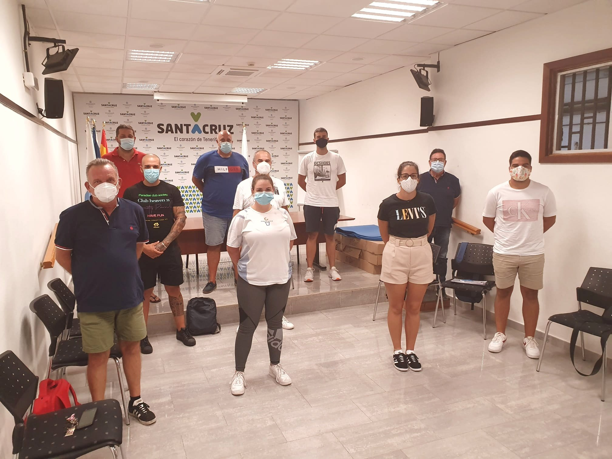 Los entrenadores del Tenerife Central elaboran un protocolo para comenzar la pretemporada