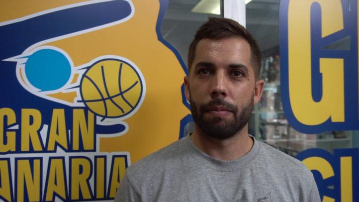 Gabi Alonso, entrenador del Gran Canaria-Claret de LEB Plata