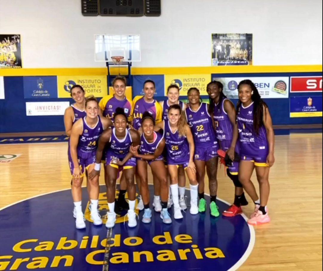 El Clarinos decidió en el último cuarto ante un combativo Islas Canarias