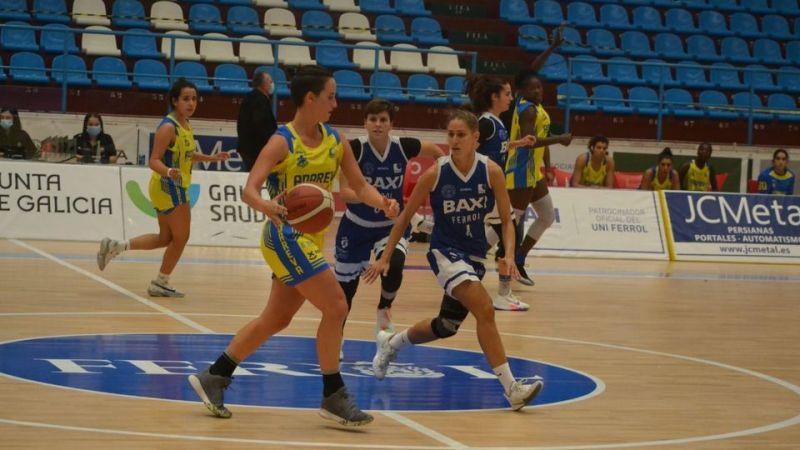 La lesión de Alba Peña minimiza la clara derrota ante un Ferrol muy superior