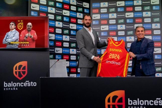 Scariolo y Mondelo serán seleccionadores nacionales absolutos de España hasta 2024