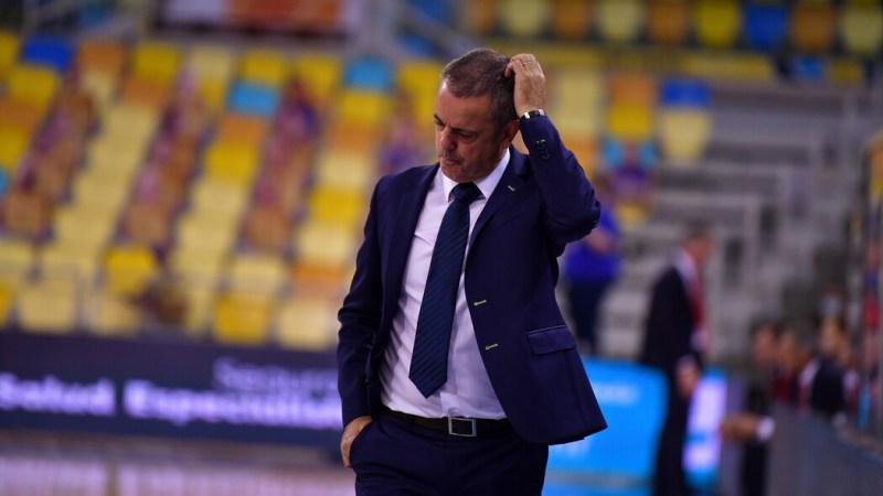 Fisac, ante la visita al Real Madrid, considera que el equipo debe «buscar la solidez defensiva que queremos»