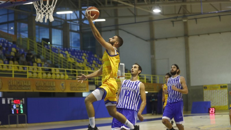 El segundo cuarto supone la primera derrota en LEB Plata del Gran Canaria-Claret