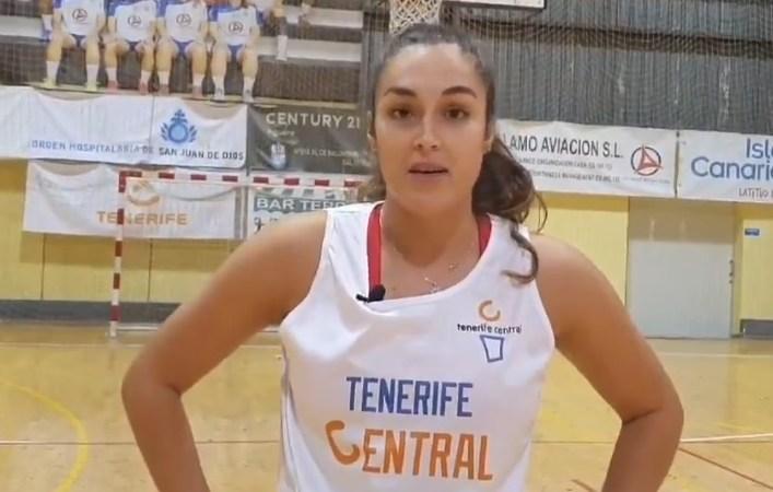 Santana: «Quiero ayudar al Tenerife Central a ascender a Liga Femenina 2»