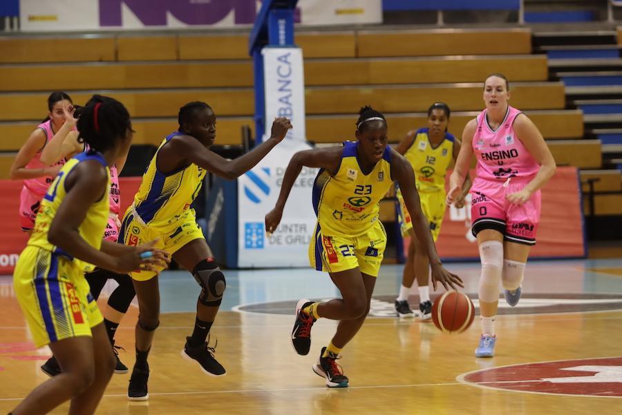 El CB Islas Canarias sigue sin tomarle el pulso a la Liga Femenina y cae apalizado en Lugo