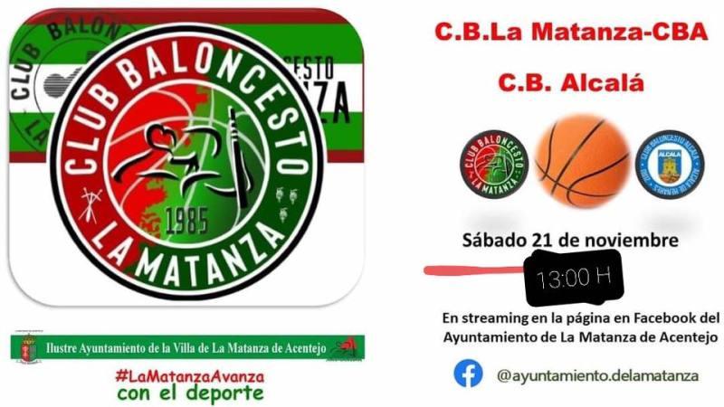 [DIRECTO] Tercera jornada de Liga EBA: Matanza CBA – Baloncesto Alcalá