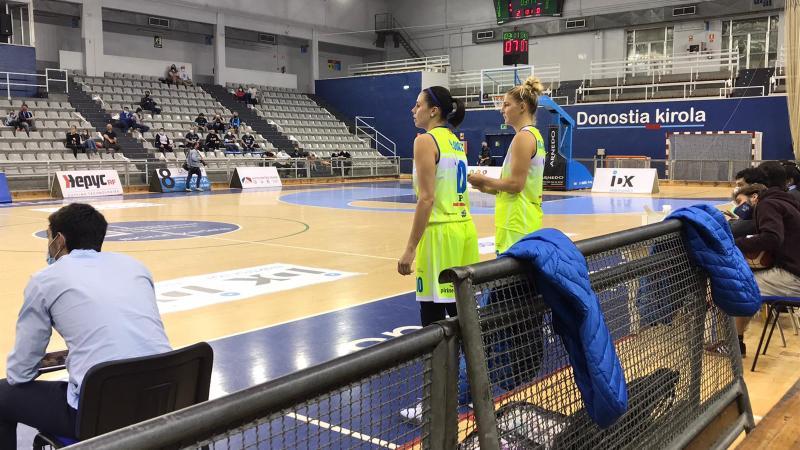 Yurena Díaz volvió a jugar once meses después