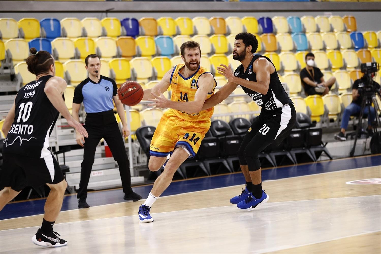 Gran Canaria-Claret vence a Trento para asegurar el 'Top 16' de la EuroCup