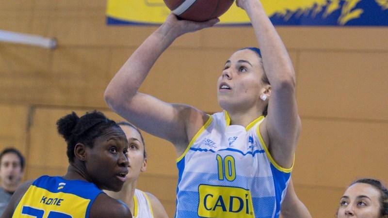 Yurena Díaz hace su mejor partido desde su regreso para ganar al CB Islas Canarias