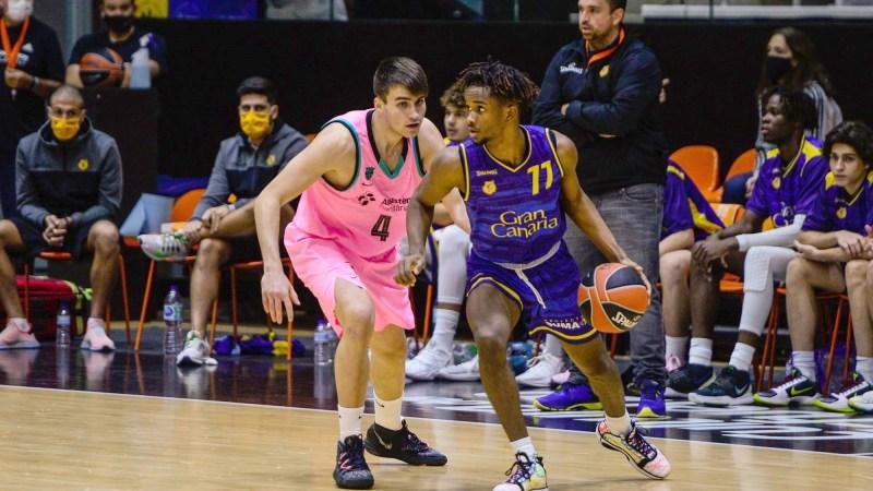 El Gran Canaria-Claret sufre una clara derrota ante el Barça en el 'Next Generation'