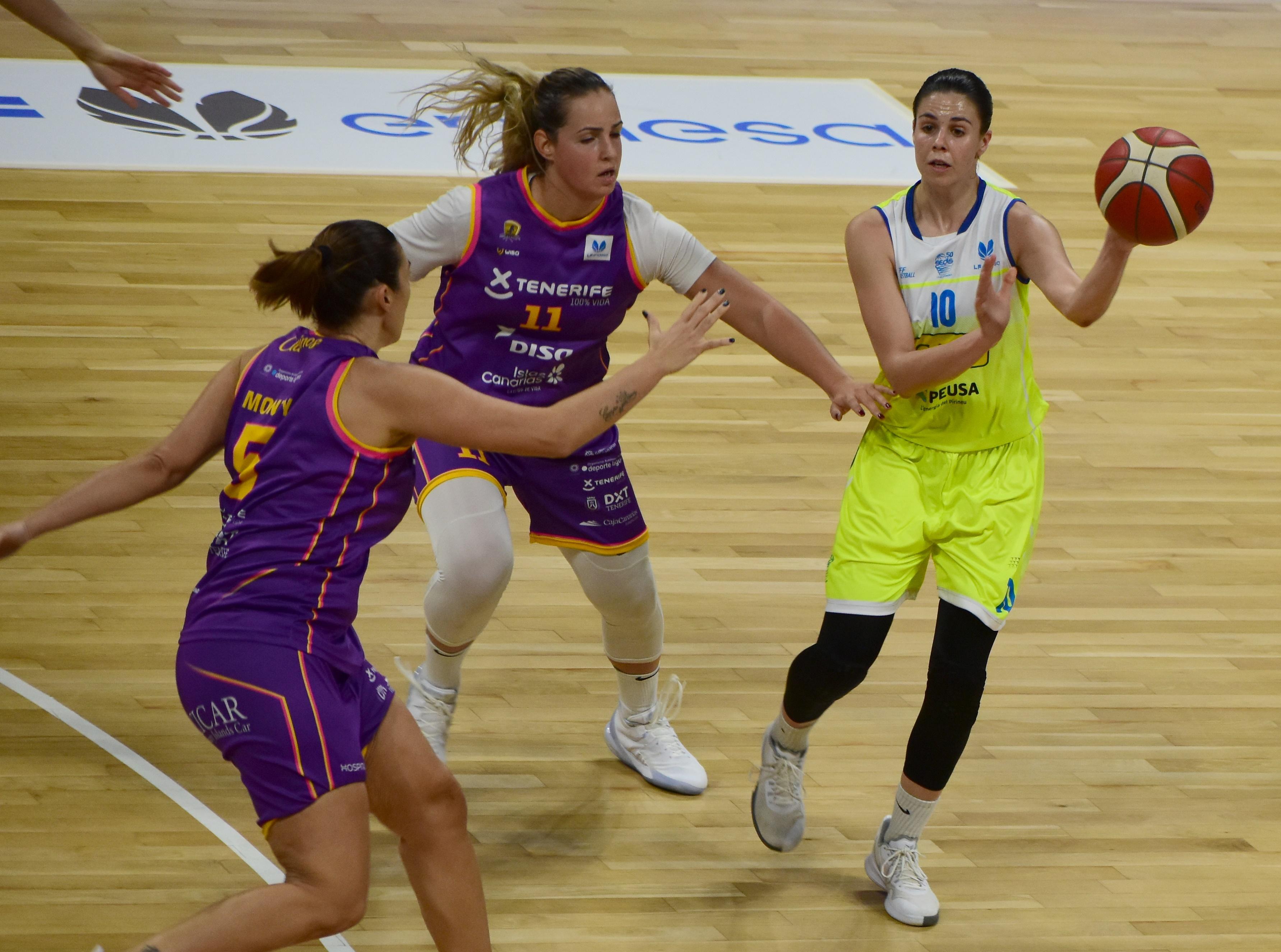 Yurena Díaz: «Vamos a la Eurocup con mentalidad competitiva»