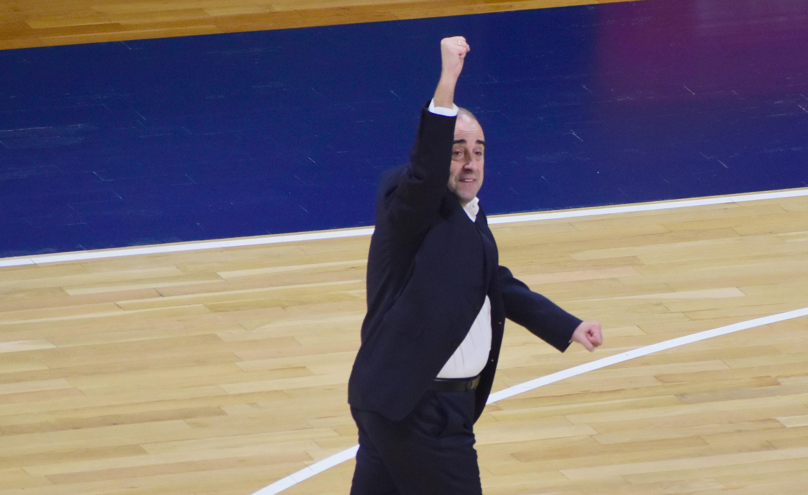 Vidorreta marcó en 2018 que el objetivo aurinegro sería llegar a Euroliga