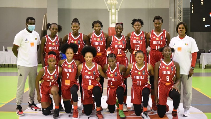 Mariam Coulibaly, jugadora del Clarinos, subcampeona del Afrobasket U18