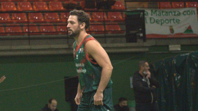 Nichel Hernández debutó en el Matanza CBA y regresó a Liga EBA diez años después