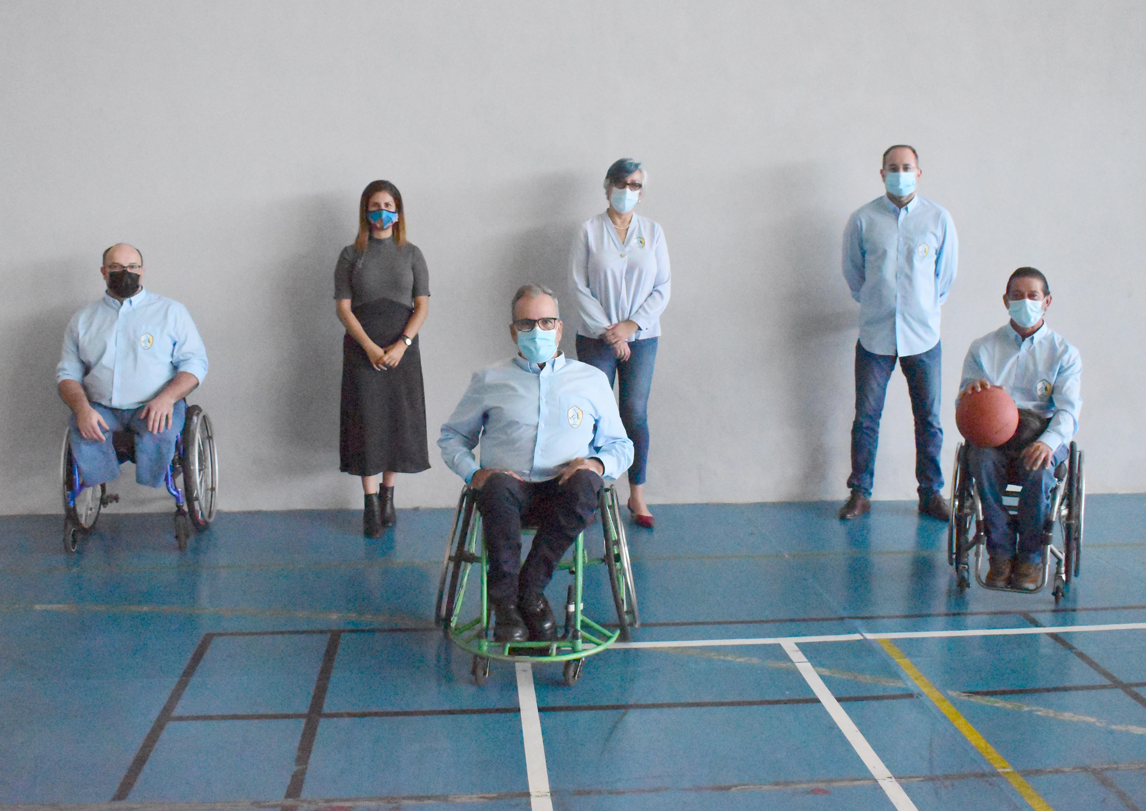 ADEIN Tenerife nace con el objetivo de potenciar el deporte inclusivo de la isla y comenzará por el baloncesto en silla de ruedas