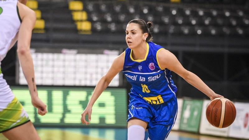 Yurena Díaz no sigue adelante en la EuroCup Women