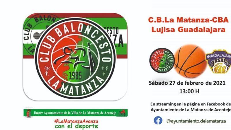 [DIRECTO] Undécima jornada de Liga EBA: Matanza CBA – Guadalajara Basket