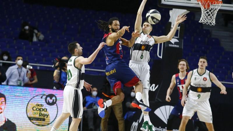 Henry, Giedraitis y Polonara guían al Baskonia a semifinales de Copa