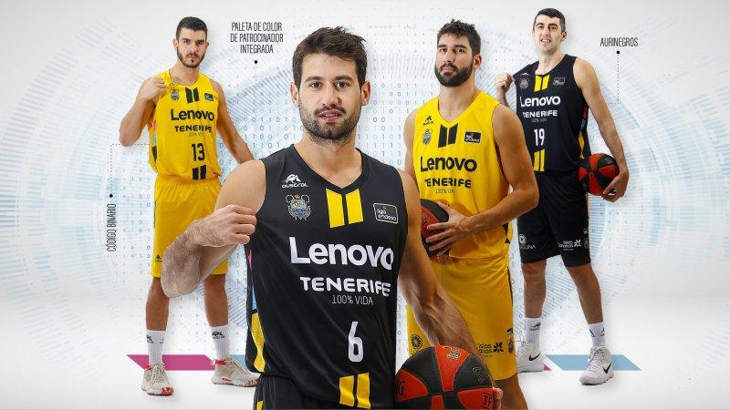 Lenovo, nuevo patrocinador del primer equipo aurinegro, que deja de tener a Iberostar en su 'naming'