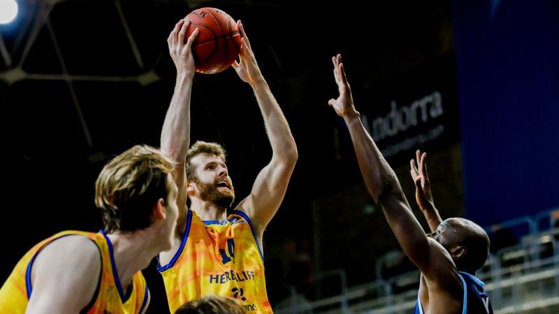 Shurna, tras ganar en Andorra, ve «opciones intactas» de avanzar en EuroCup