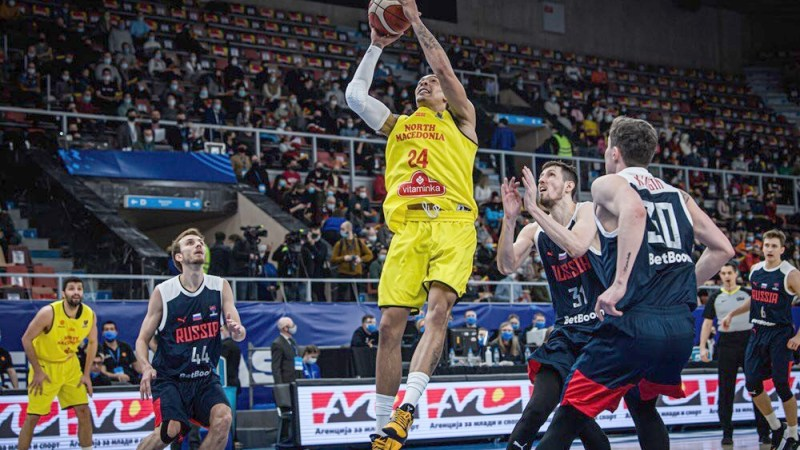 Otra gran actuación de Wiley en una nueva derrota de Macedonia del Norte