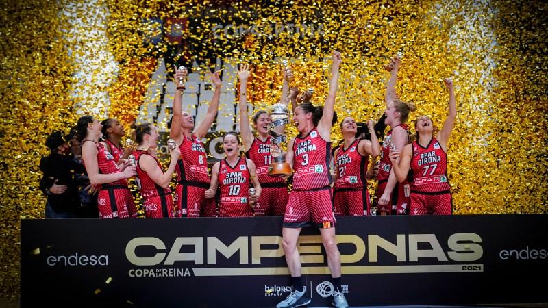 Uni Girona, campeón de la Copa de la Reina 2021
