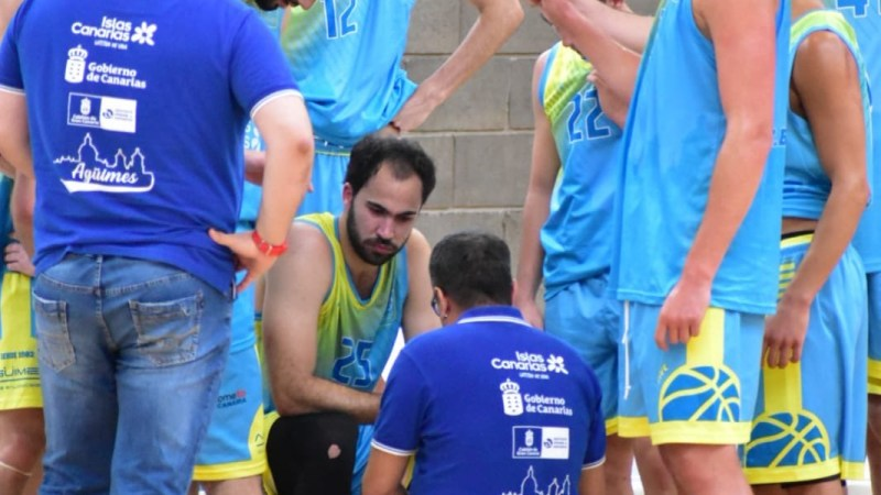 El Agüimes comienza con derrota la fase de permanencia en Liga EBA